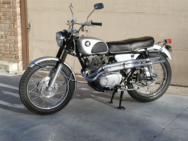 1966 honda 305 scrambler. Black Bedroom Furniture Sets. Home Design Ideas