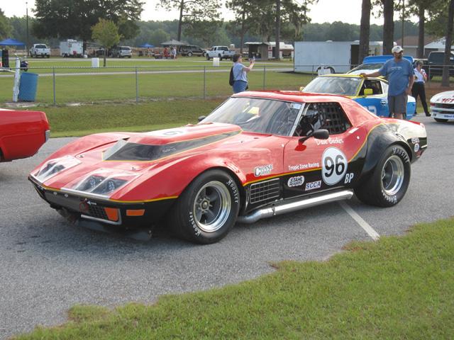 Vintage Race Corvette